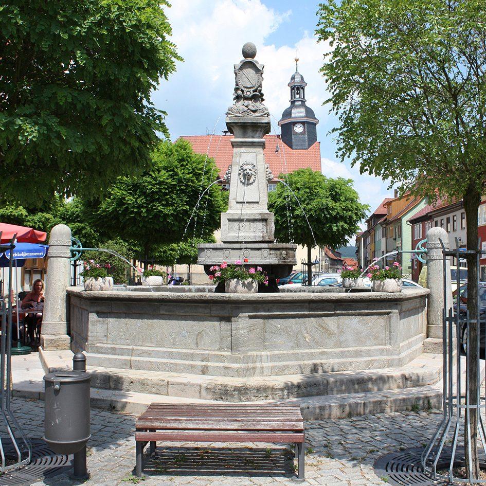 Marktbrunnen in Römhild